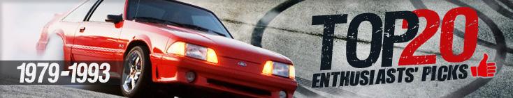 1979-93 Mustang Top Twenty
