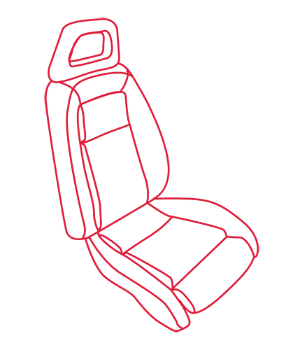 1979-93 Mustang Sport Seat